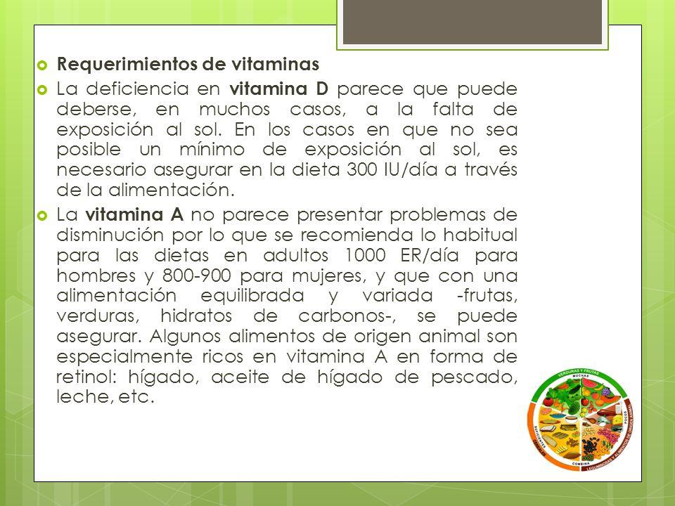 VitaminasAlimentos con alto contenido Vit.