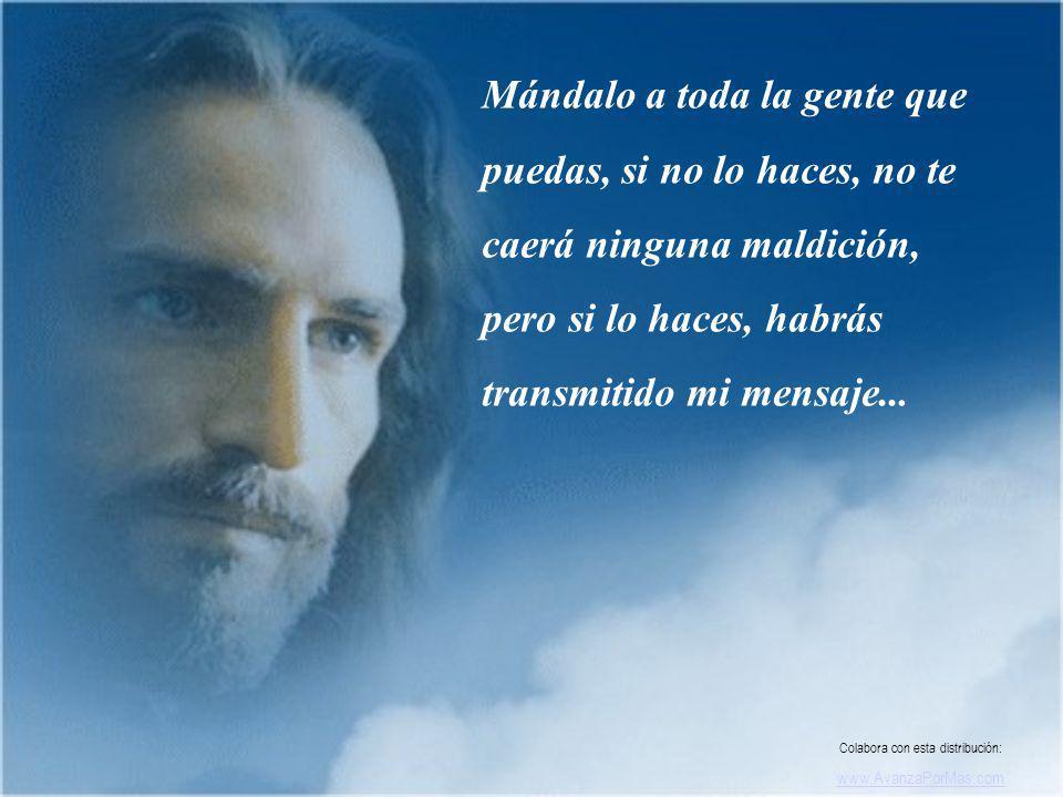Dime siempre Jesús, yo confío en tí y verás grandes milagros, Te lo prometo por mi amor.. Colabora con esta distribución: www.AvanzaPorMas.com