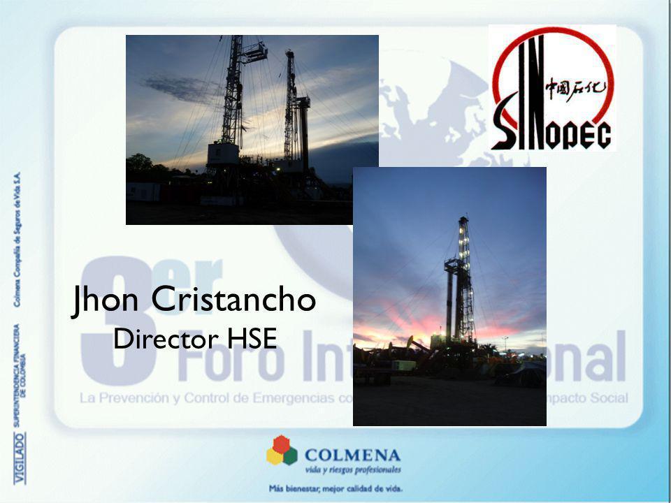 Diagrama SCI COMUNICACIONES SINOPEC COLOMBIA SINOPEC - COLMENA ENLACE SINOPEC-OPERADORA ENLACE EN LOCACION ENLACE EXTERNO ENLACE INTERNO SINOPEC CHINA ENLACE EXTERNO