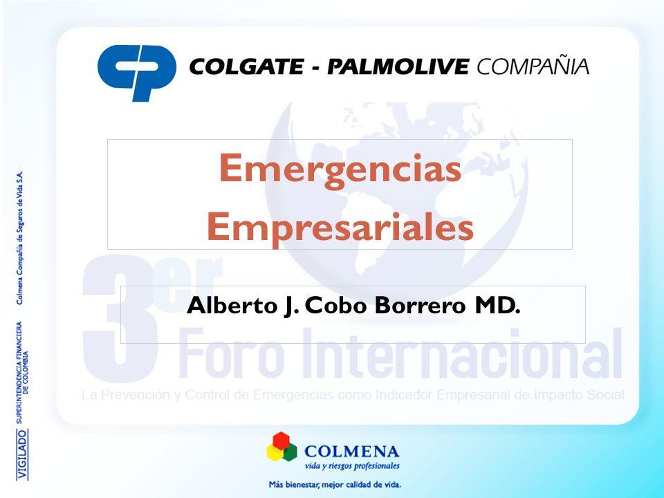 Alberto J. Cobo Borrero MD. Emergencias Empresariales