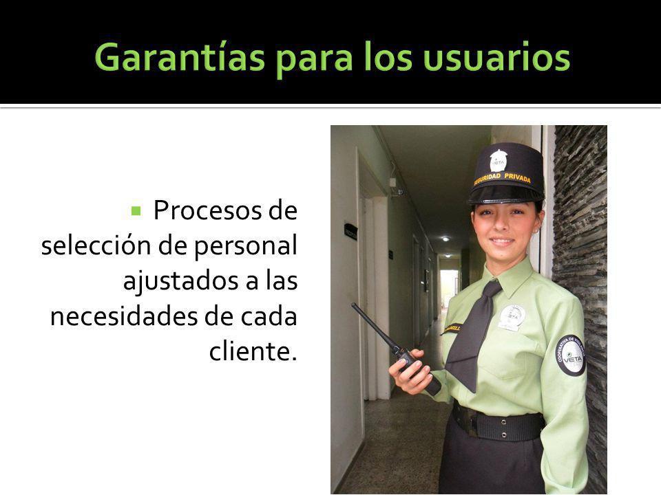 Procesos de selección de personal ajustados a las necesidades de cada cliente.