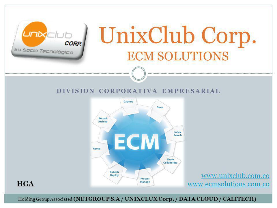 DIVISION CORPORATIVA EMPRESARIAL UnixClub Corp.