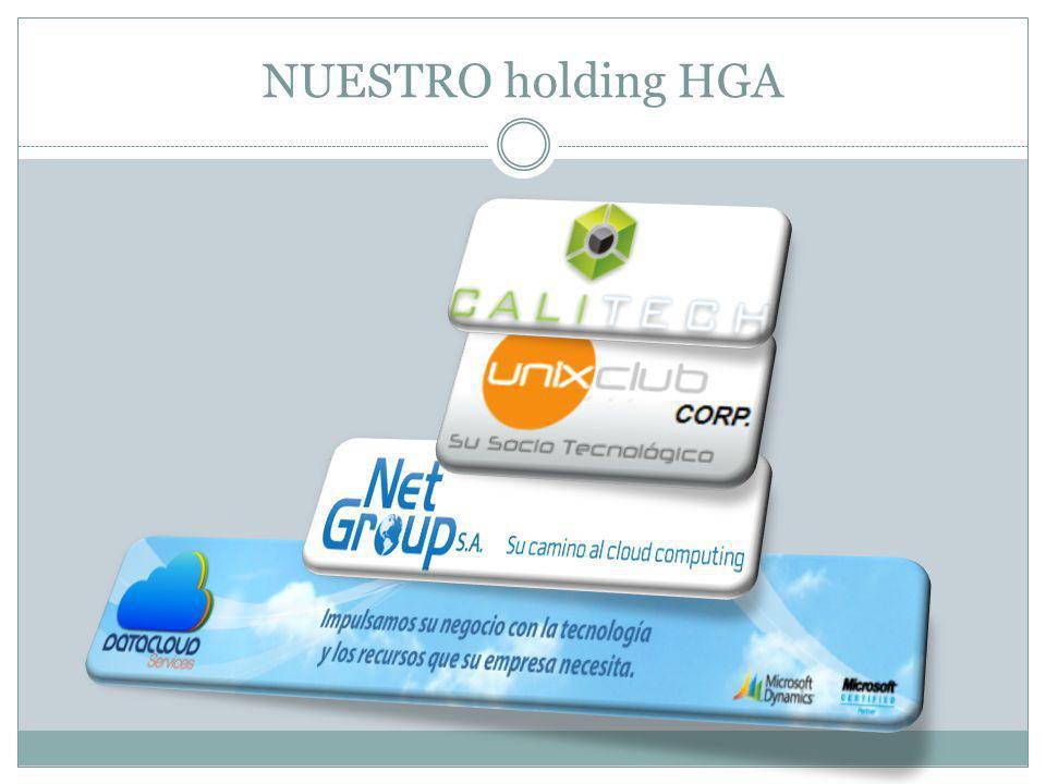 NUESTRO holding HGA