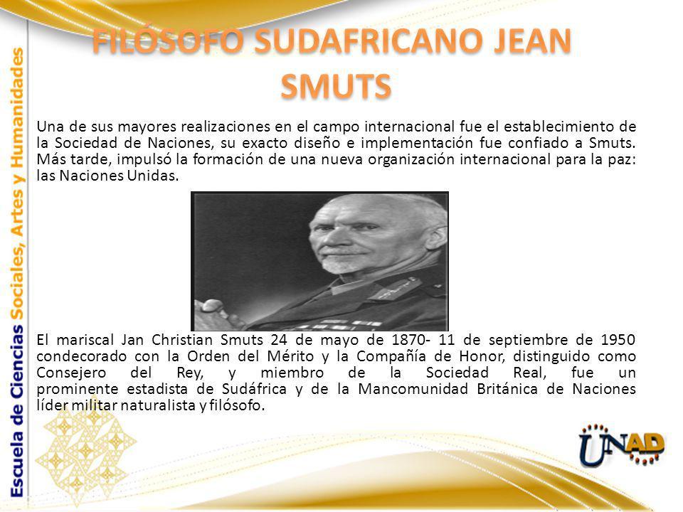 Una de sus mayores realizaciones en el campo internacional fue el establecimiento de la Sociedad de Naciones, su exacto diseño e implementación fue co