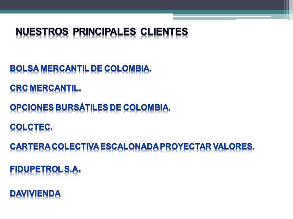 COSTOS SEGUIMIENTO Y VERIFICACIÓN ESPECIES MAYORES OPERADORA COLOMBIANA DE PRODUCTOS S.A.