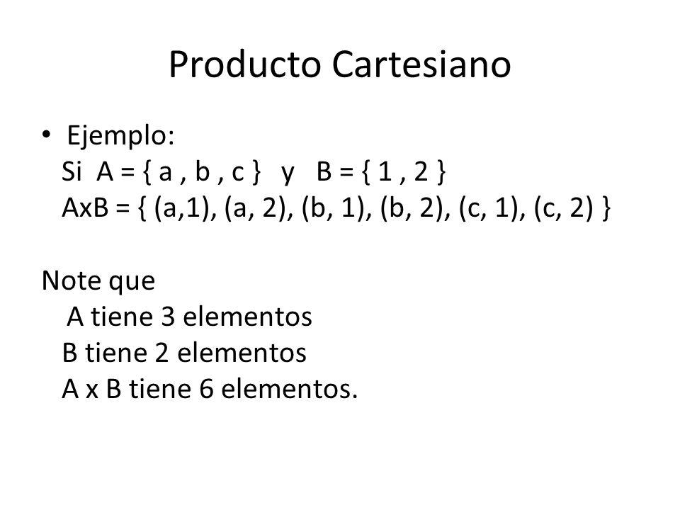 Propiedad asimétrica Una relación es asimétrica si ningún par ordenado de la relación cumple la propiedad simétrica.