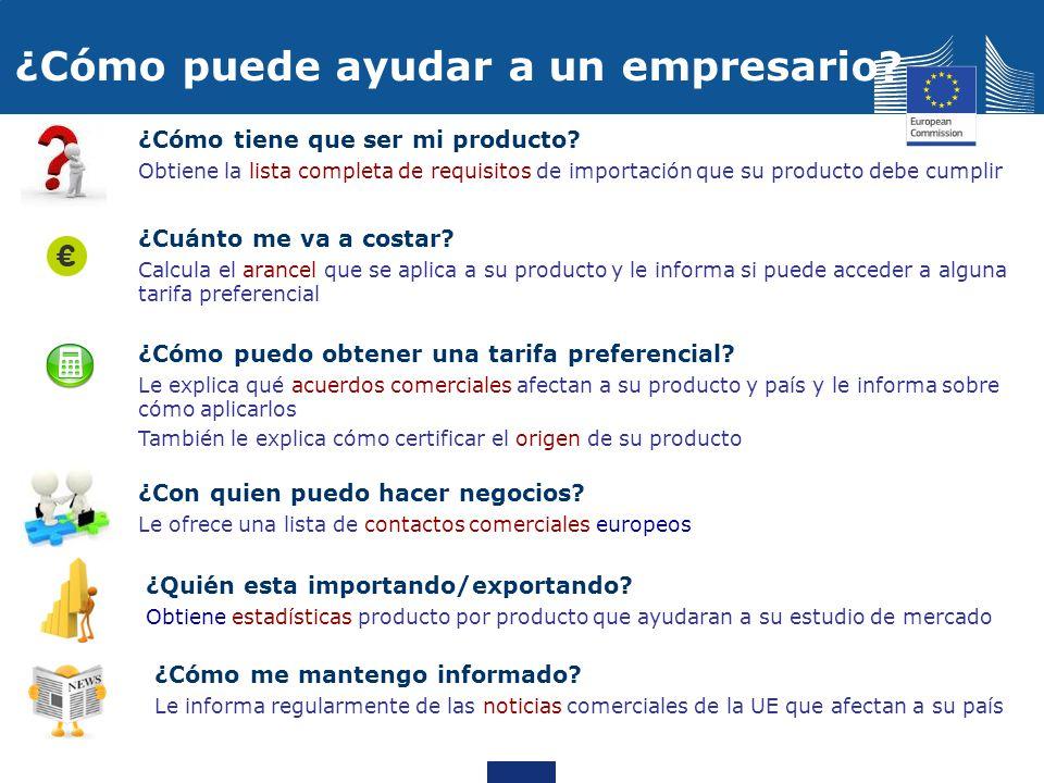 ¿Cómo puede ayudar a un empresario? ¿Cómo tiene que ser mi producto? Obtiene la lista completa de requisitos de importación que su producto debe cumpl