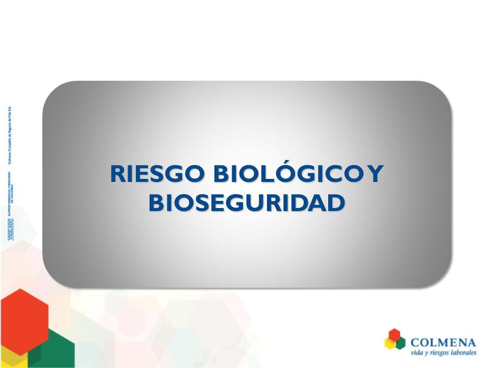 INTRODUCCIÓNINTRODUCCIÓN Exposición del personal de salud a contaminación y/o contagio por agentes biológicos.