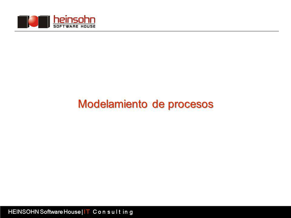 HEINSOHN Software House | Fábrica software HEINSOHN Software House | Modelamiento de procesos