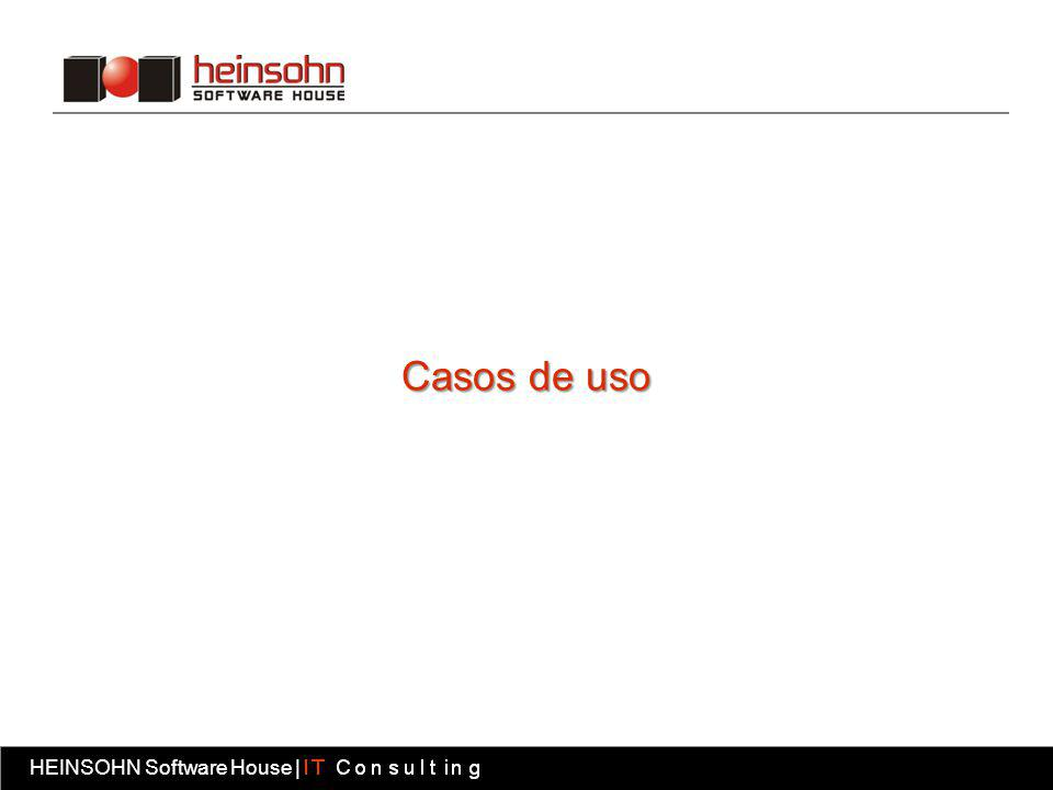 HEINSOHN Software House | Fábrica software HEINSOHN Software House | Casos de uso