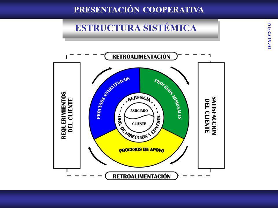 PRESENTACIÓN COOPERATIVA ESTRUCTURA SISTÉMICA FO.02.015 v01