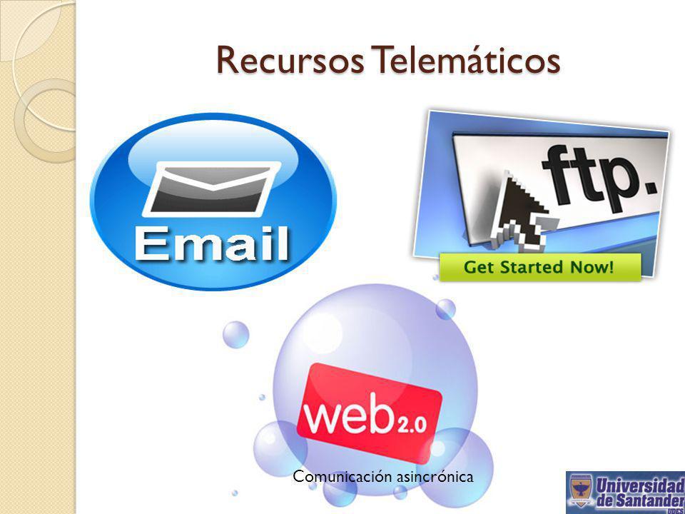 Recursos Telemáticos Comunicación asincrónica
