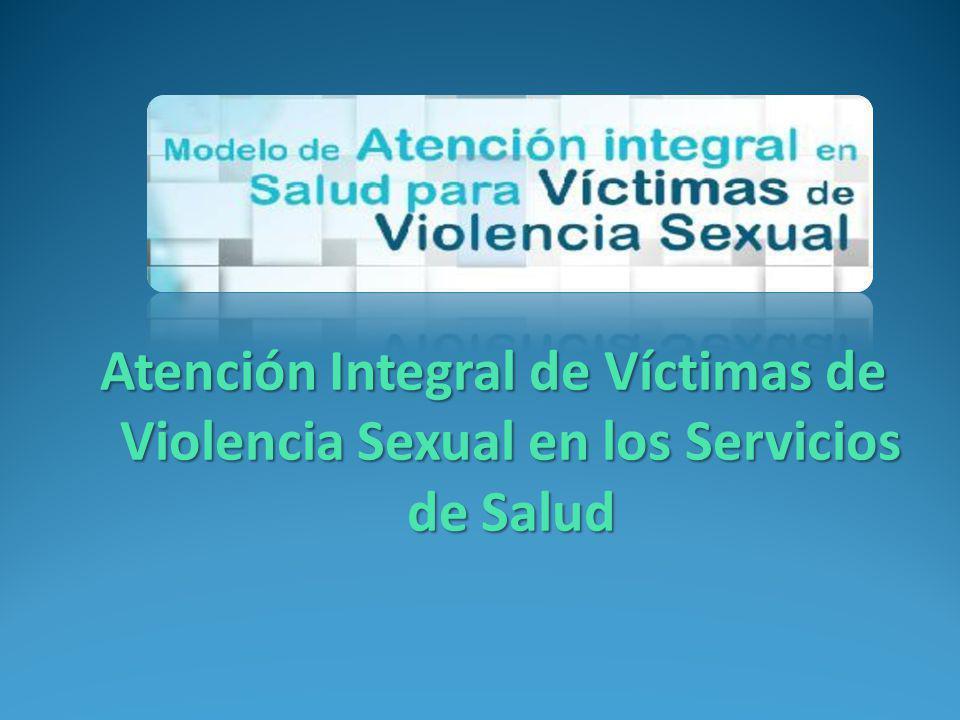 salud urgencia Independientemente del momento en que consulte una víctima de violencia sexual, se le deben proporcionar los cuidados generales y especializados para su salud en el contexto de la atención de la urgencia Salud