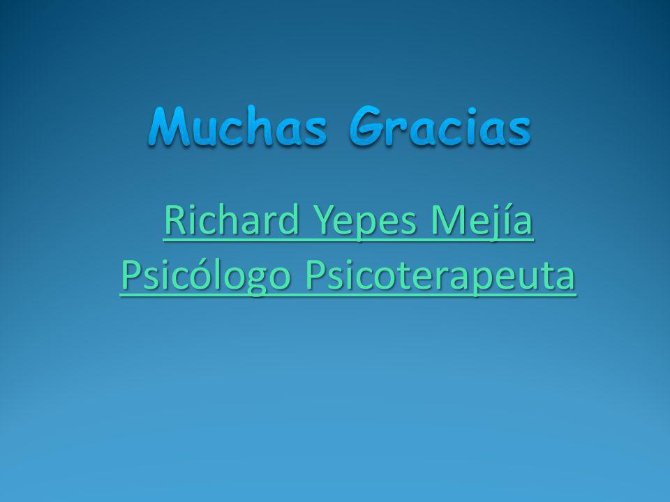Richard Yepes Mejía Psicólogo Psicoterapeuta