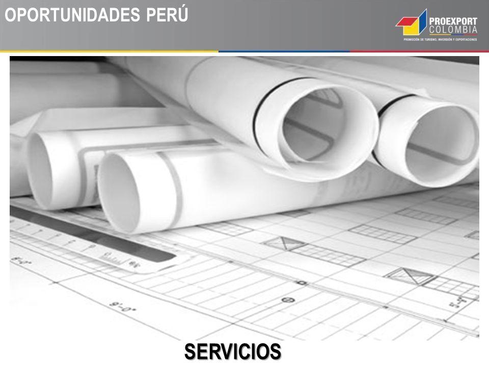 OPORTUNIDADES PERÚ SERVICIOS Servicios de construcción e ingeniería.