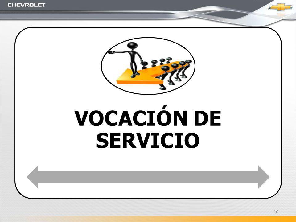 VOCACIÓN DE SERVICIO 10
