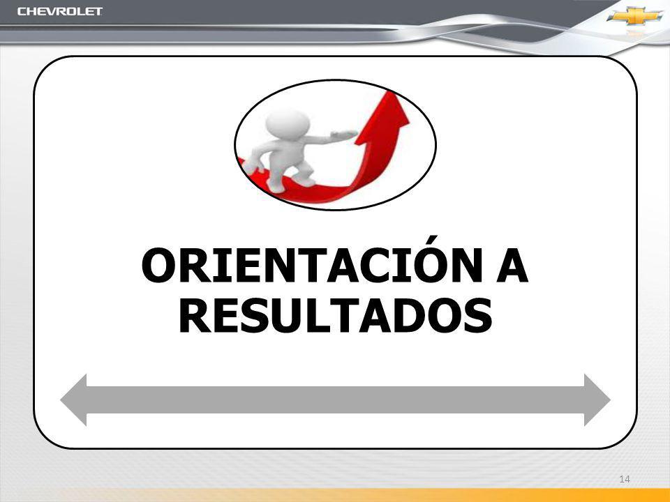 ORIENTACIÓN A RESULTADOS 14