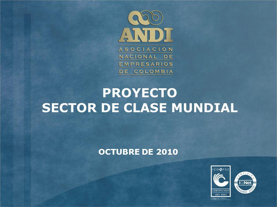 PROYECTO SECTOR DE CLASE MUNDIAL OCTUBRE DE 2010