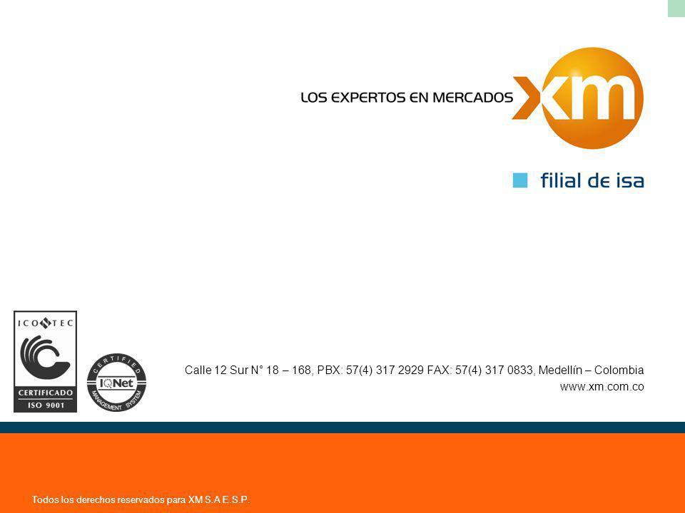 Todos los derechos reservados para XM S.A E.S.P.