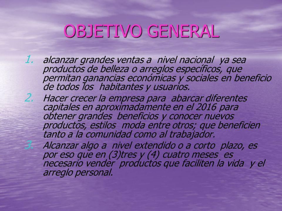OBJETIVO GENERAL 1.1.
