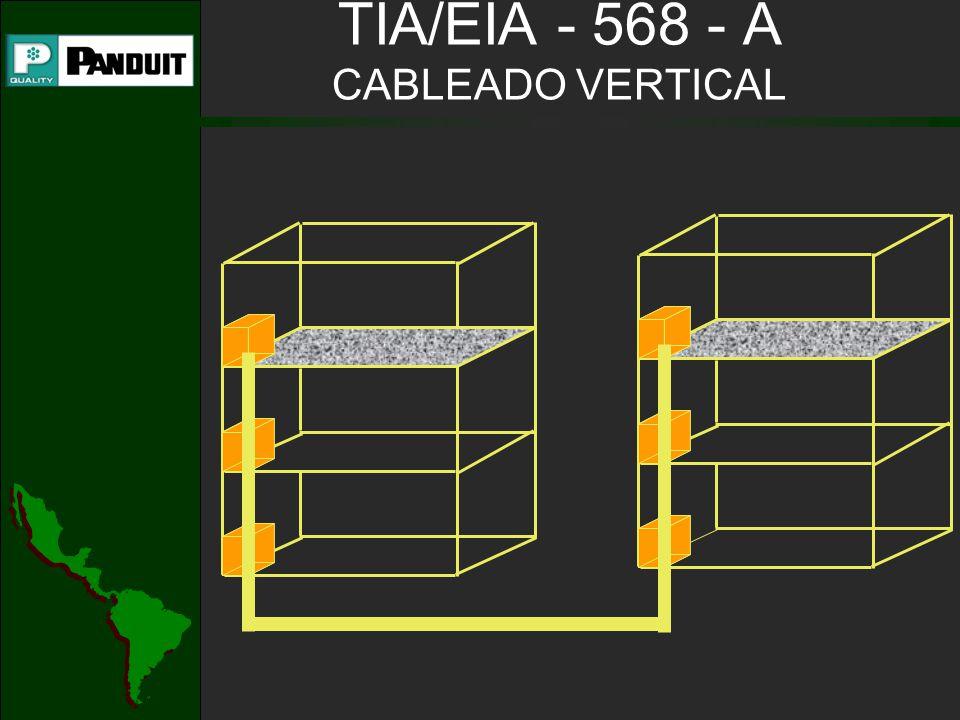 TIA/EIA - 568 - A CABLEADO VERTICAL