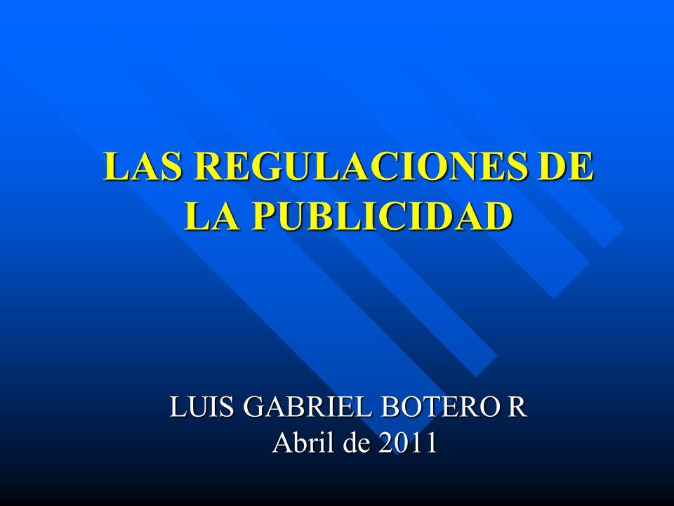 PRINCIPALES NORMAS REGULADORAS Estatuto de Protección al Consumidor.