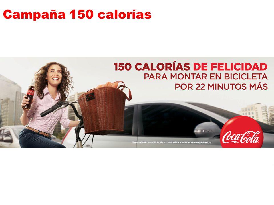 Campaña 150 calorías