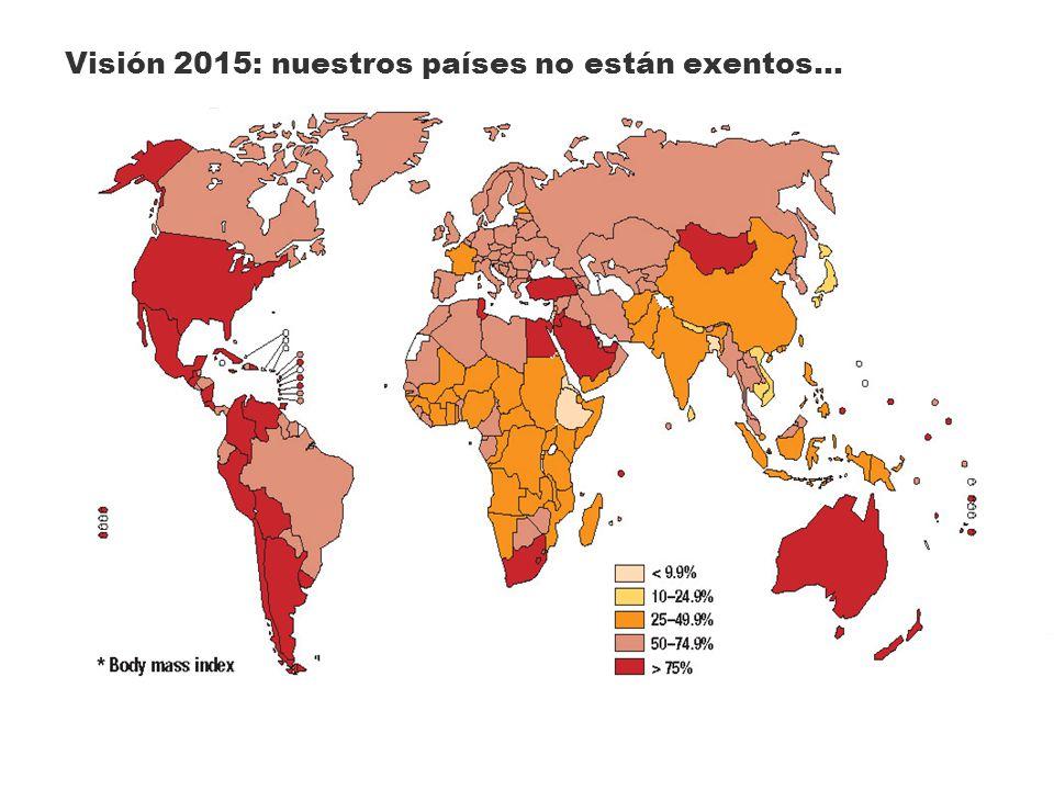 Visión 2015: nuestros países no están exentos…