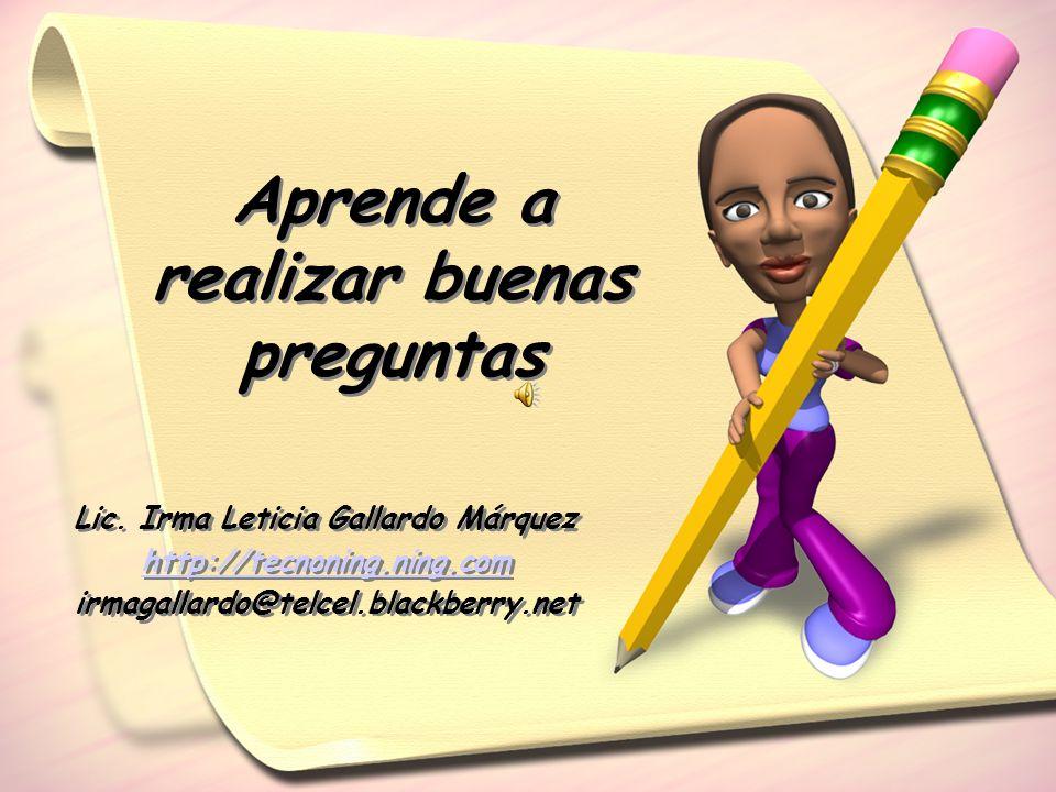 Lic. Irma Leticia Gallardo Márquez http://tecnoning.ning.com irmagallardo@telcel.blackberry.net Lic. Irma Leticia Gallardo Márquez http://tecnoning.ni