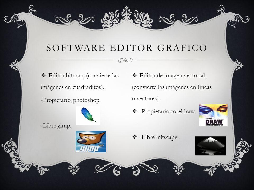 Editor bitmap, (convierte las imágenes en cuadraditos).