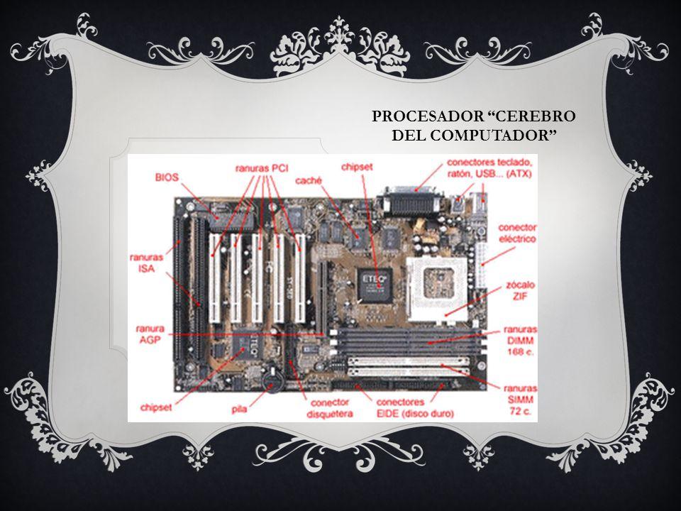 PROCESADOR CEREBRO DEL COMPUTADOR Tarjeta board: