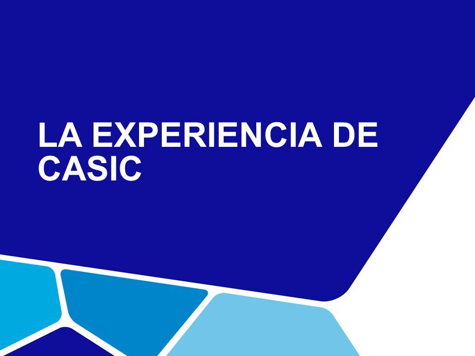 LA EXPERIENCIA DE CASIC