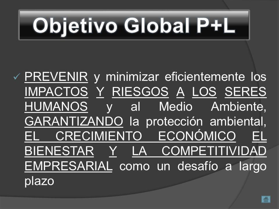 Prevenir, Mitigar, Corregir y Compensar los impactos ambientales sobre la población y los ecosistemas.