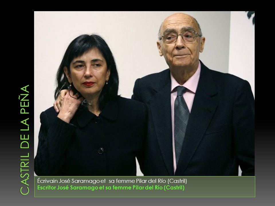 Écrivain José Saramago et sa femme Pilar del Río (Castril) Escritor José Saramago et sa femme Pilar del Río (Castril)