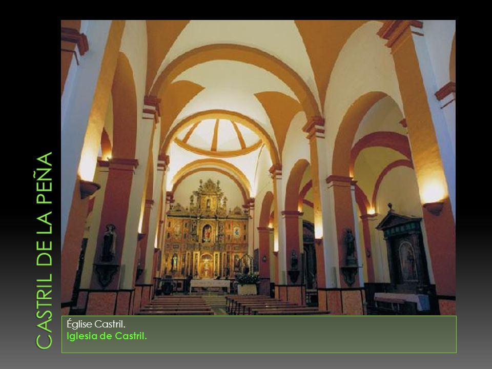 Église Castril. Iglesia de Castril.