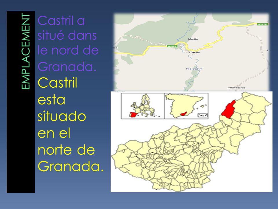 Castril a situé dans le nord de Granada. Castril esta situado en el norte de Granada.