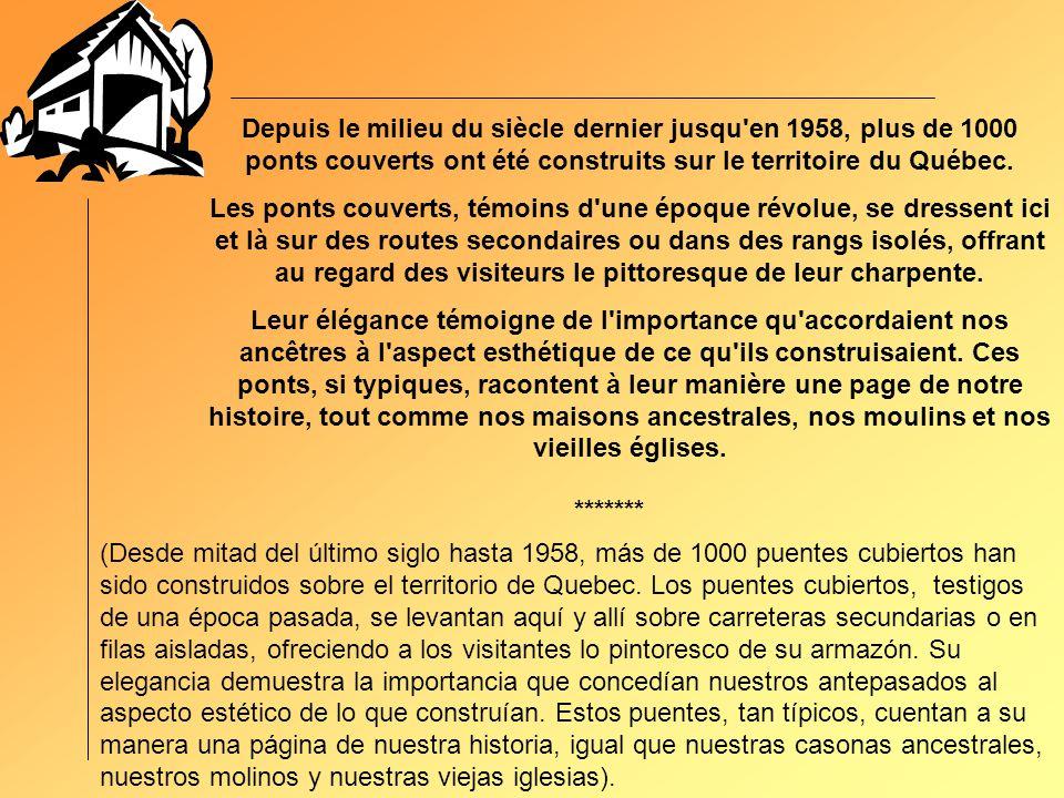 PONT ST-ANDRÉ CHAUDIÈRE APPALACHES