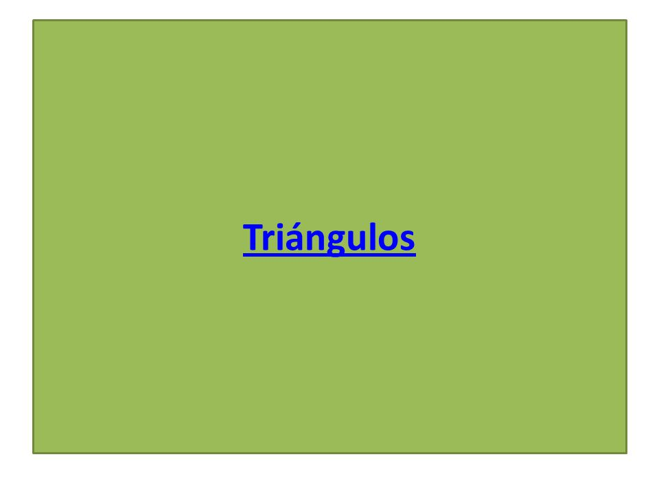 Acutángulos Tienen todos sus ángulos agudos.
