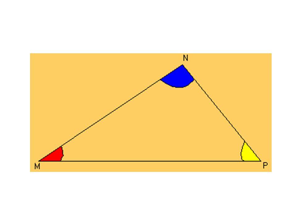 Bisectrices Segmentos que dividen al ángulo del vértice en dos partes iguales.