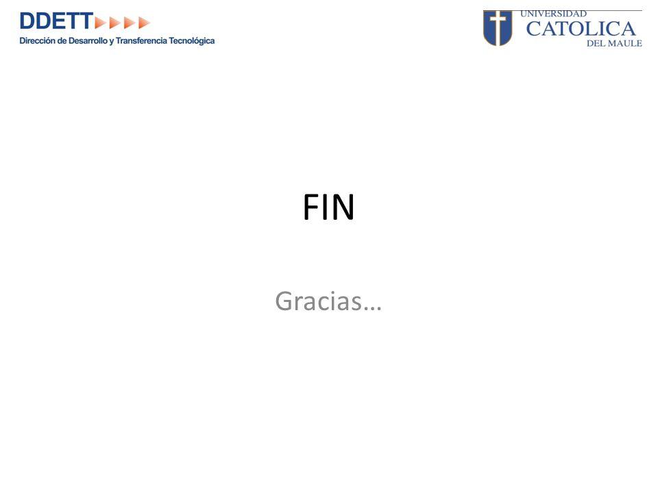 FIN Gracias…