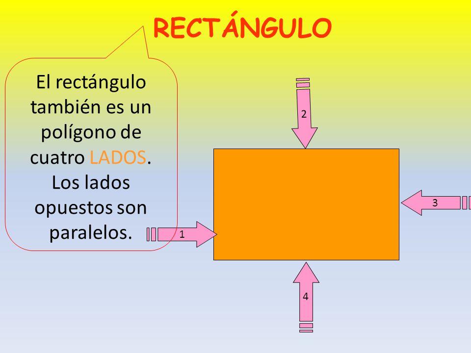 CUADRADO Y en los vértices tiene ÁNGULOS RECTOS
