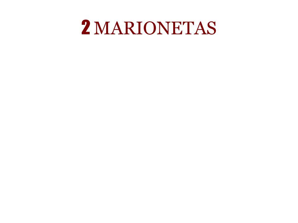 2 MARIONETAS