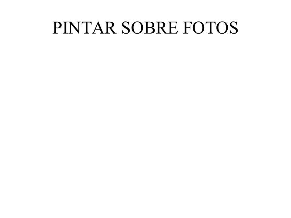 PINTAR SOBRE FOTOS