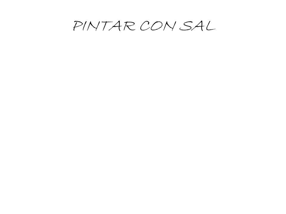 PINTAR CON SAL