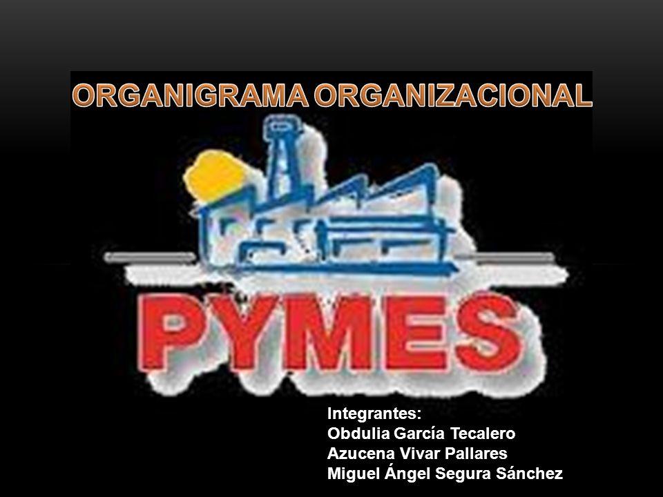 El Organigrama es la gráfica en donde se muestra la relación de los departamentos que componen una empresa, por medio de las líneas de autoridad.