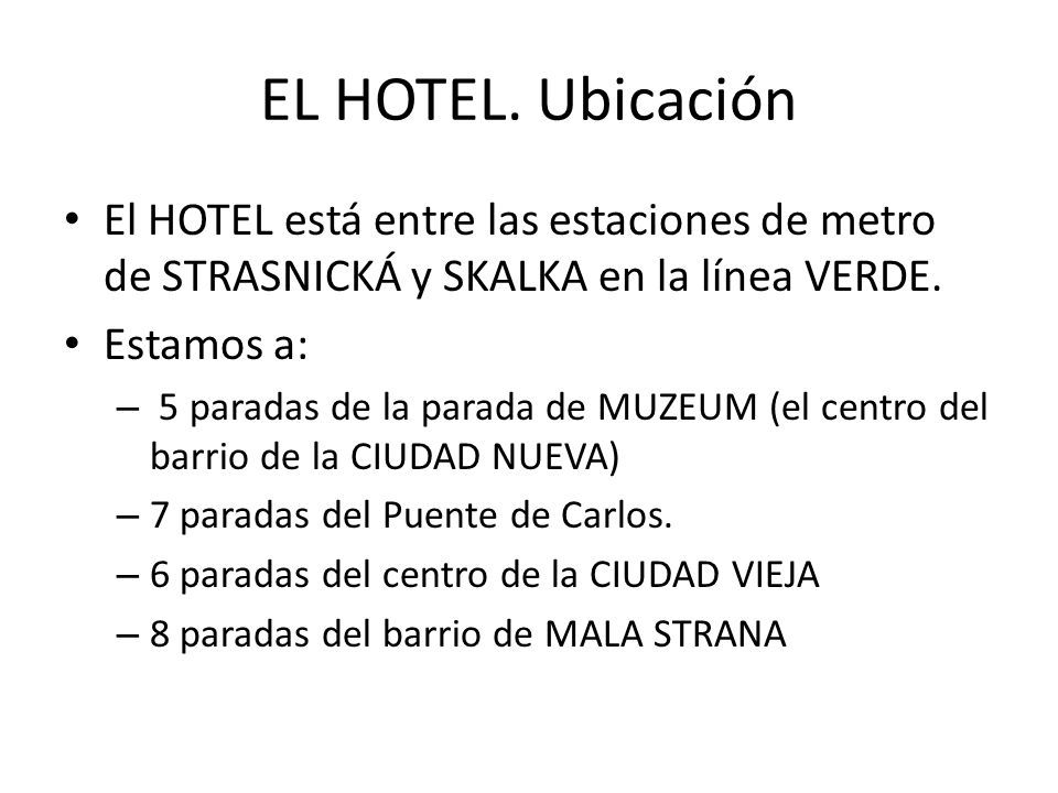 EL HOTEL.