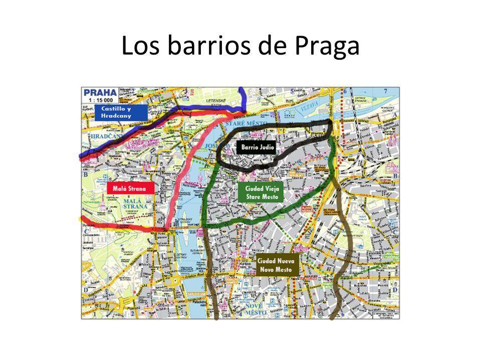Los barrios de Praga