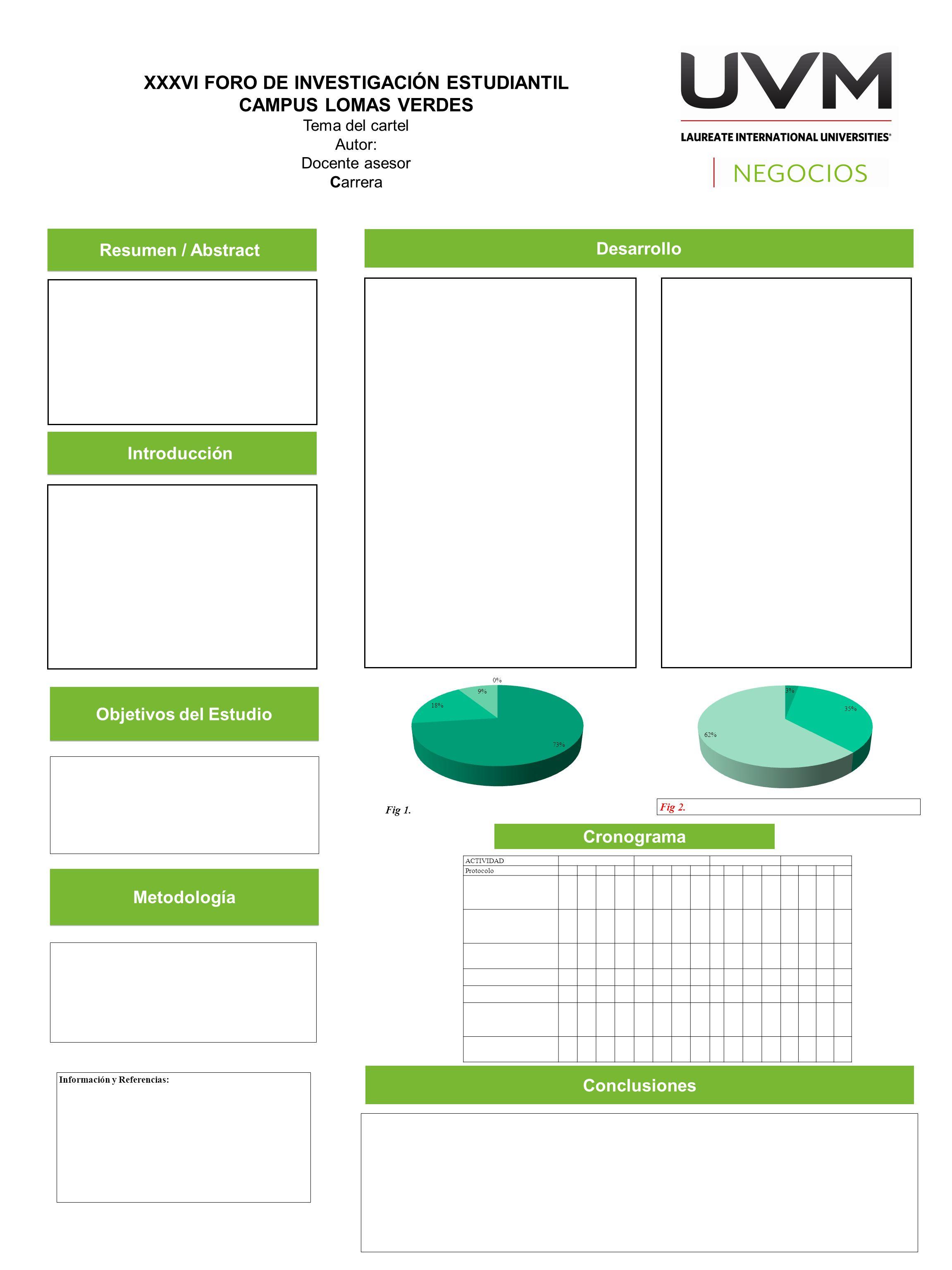 Información y Referencias: Resumen / Abstract Objetivos del ...
