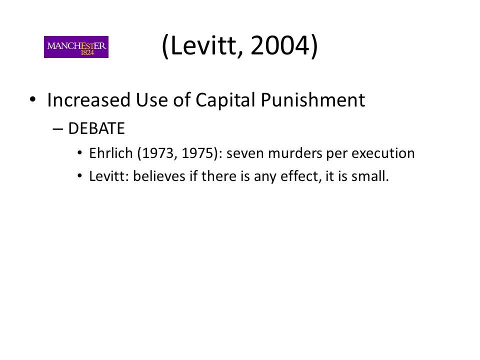 the capital punishment debate