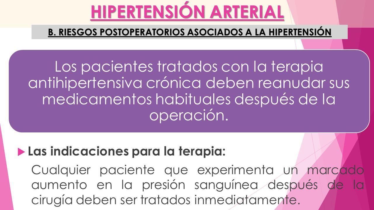 PROBLEMAS MEDICOS ESPECIALES: CARDIACOS. HIPERTENSIÓN ARTERIAL ...